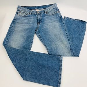 Lucky Brand Womens Jeans 12/31 Blue Rider Fit